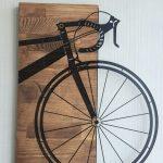 Ahşap Bisiklet Tablo